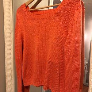 Open Back Sweater by PINKMINK
